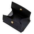 極小財布 ボックスカーフ(ブラック)ボックス型小銭入れ 仔牛革 BECKER(ベッカー)ドイツ製