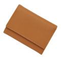 極小財布 ボックスカーフ(コニャック)ベーシック型小銭入れ 仔牛革 BECKER(ベッカー)ドイツ製