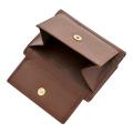 極小財布 ディアスキン(ブラウン)ベーシック型小銭入れ 鹿革 BECKER(ベッカー)ドイツ製