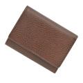 極小財布ゴートスキン(ブラウン)ベーシック型小銭入れ 山羊革 BECKER(ベッカー)ドイツ製