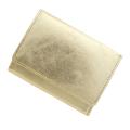 極小財布 ゴートスキン メタリックゴールド ベーシック型小銭入れ BECKER(ベッカー) 日本製