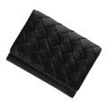 極小財布 ベジタブルタンニンレザー(ブラック)ベーシック型小銭入れ 牛革 BECKER(ベッカー)日本製