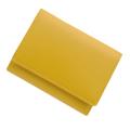 極小財布 スムース 牛革 イエロー ベーシック型小銭入れBECKER(ベッカー)