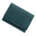 極小財布シープスキンメタリック シャイニーストロベリーレッド BECKER(ベッカー) 日本製