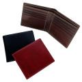 二つ折り財布(トスカーナレザー/牛革)小銭入れなし CAPITO(カピート)日本製