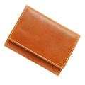 極小財布 トスカーナレザー キャメル ベーシック型小銭入れ 牛革 日本製