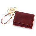 【custom】極小財布メンズセット トスカーナレザー ロッソ(レッド) 日本製