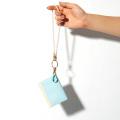カスタムセットカスタムウォレット極小財布スムース バイカラー ライトブルー×アイボリー BECKER 日本製