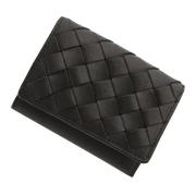 極小財布 メッシュ オイルレザー ブラック 日本製